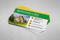 Wizytówka Agroturystyka 'U Basi'